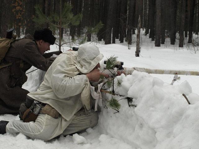 Зимові бої під Радомишлем.