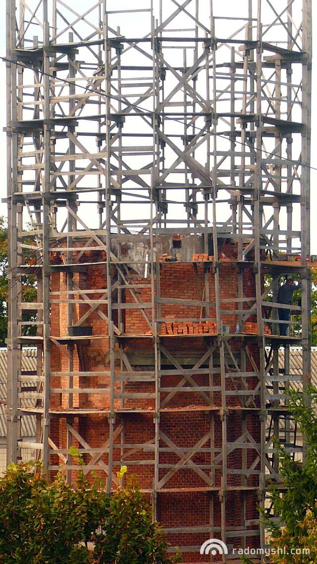 Реконструкція пожежної вежі. Reload...